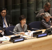 Remarks by President Park Geun-hye at the High-level Meeting of t...