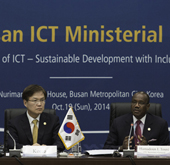 ICT ministers adopt Busan Declaration