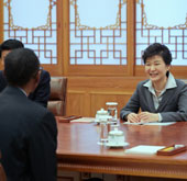 President Park holds summit with Rwandan leader