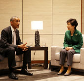 Korean, US, Australian leaders discuss cooperation