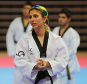 Taekwondo enjoys growing flow of adherents