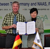 Korea, Germany cooperate on organic farming