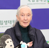 Zoologist Jane Goodall visits National Institute of Ecology