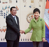Korea holds bilateral talks with Cambodia, Indonesia, Myanmar