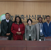 Korea, Ethiopia cooperate on food security