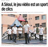 'Video games become sport in Korea': Libération