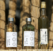 Traditional liquors made from wild ginseng