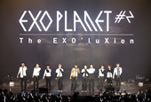 EXO heats up second solo concert by presenting nine new...