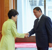 Korea, Ethiopia hold summit meeting