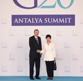 President outlines reforms, creative industries at G20 meeting