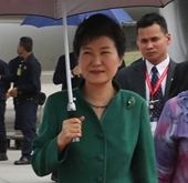 Park arrives in Malaysia for regional summits