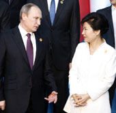 Park to hold talks with Putin on bilateral issues, N. Korea's nuk...