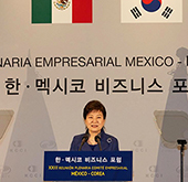 Korea, Mexico will march together: president