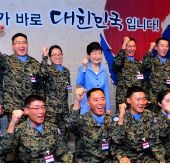 Park delivers pep talk to S. Korean troops in South Sudan