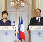 President Park to expand cooperation with Africa, Europe