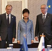 President meets with EU, Laos, Vietnam at ASEM Summit