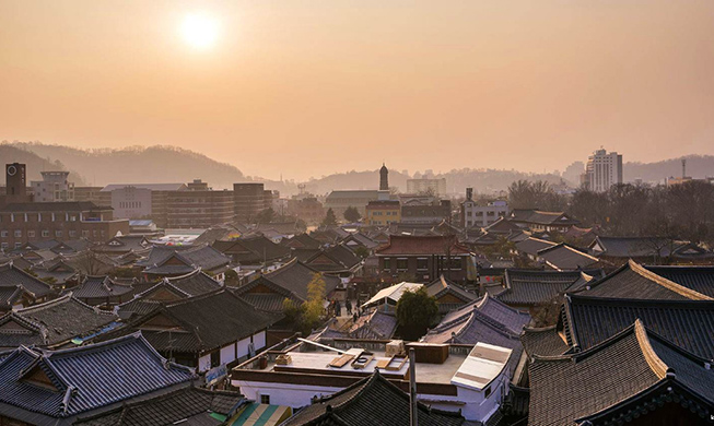 Jeonju ranked 3rd best attraction in Asia