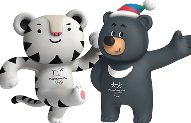 Official Mascots of PyeongChang2018