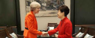 Park calls on Britain to work together to overcome trade protecti...