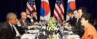 President reaffirms will to bolster Seoul-Washington alliance