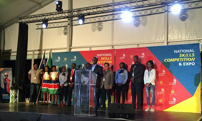 Namibia holds 1st nationwide vocational skills competition