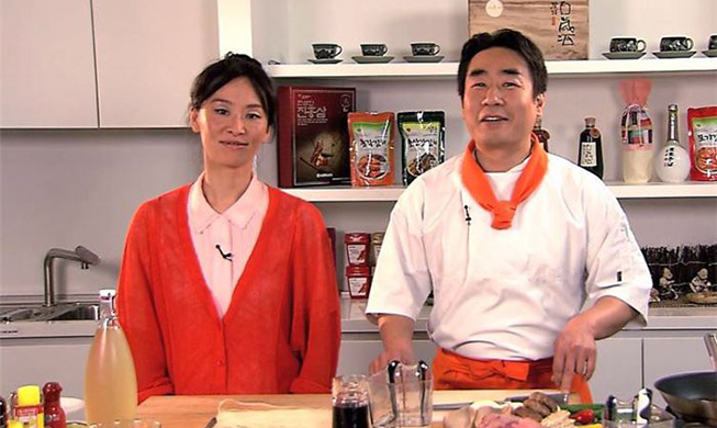 Belgian TV airs Korean cooking show