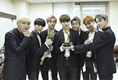 BTS accepts prestigious award at the ′2016 Korean Pop C...