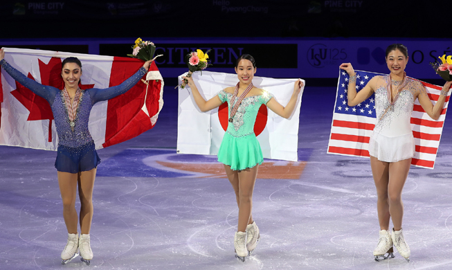 Figure skaters look forward to PyeongChang medals