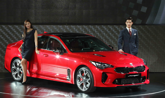Kia Unveils First Sports Sedan Korea Net The Official Website Of