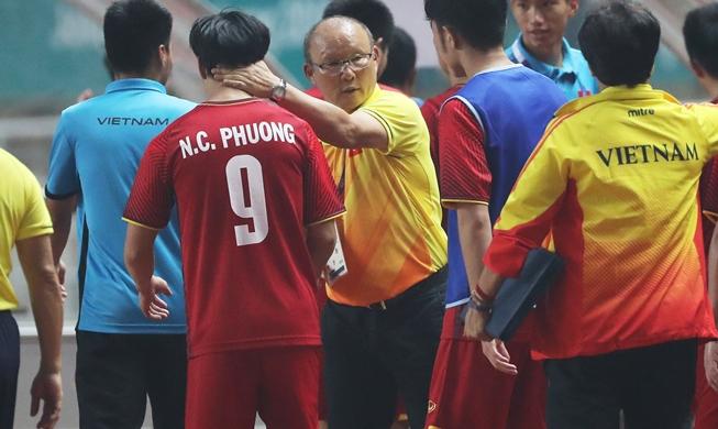 Coach Park Hang-seo, <b>U23</b> Vietnam squad welcomed home : Korea ...