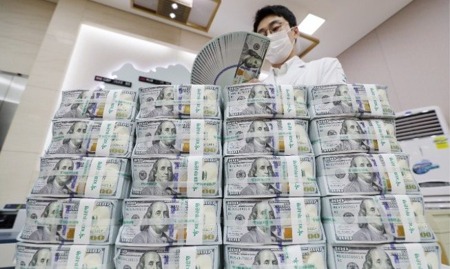 crop_20200805_S. Korea's FX reserves hit fresh high in July.jpg