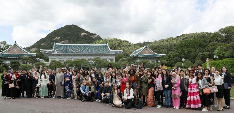 명예 리포터 그룹 사진