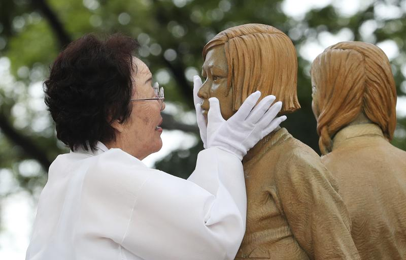 statue of comfort women in Seoul