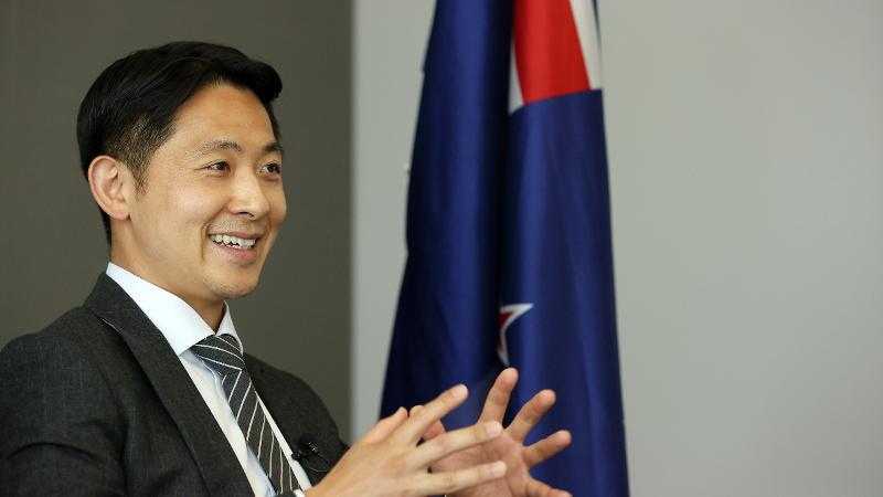 Deputy Head of Mission, Jeong Park, at New Zealand Embassy in Seoul 2