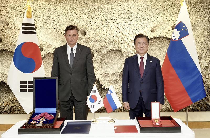 Korea-Slovenia summit
