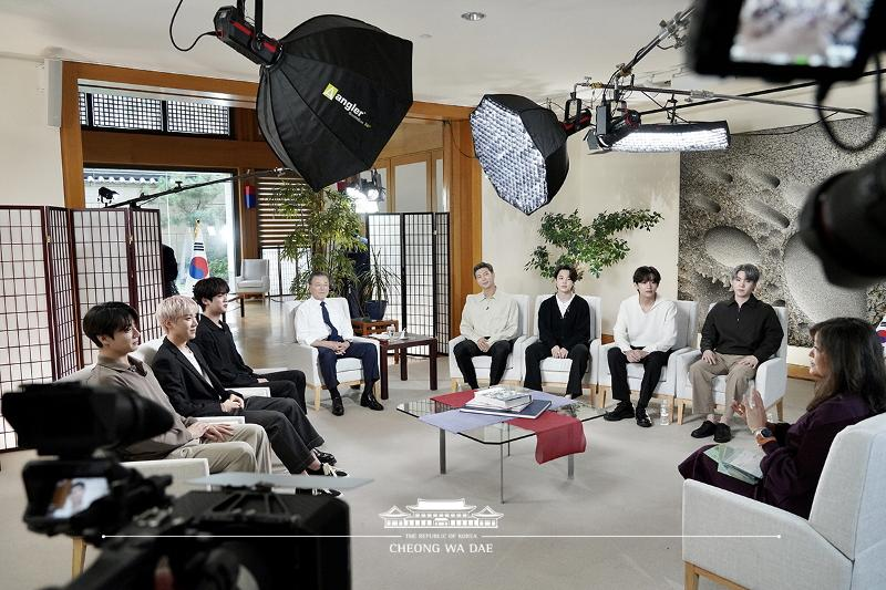 ABC interview with BTS
