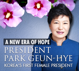 Korea's first female president