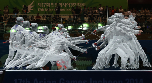 Korea wins series of gold medals...