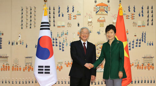 Korea, Vietnam discuss ways to d...