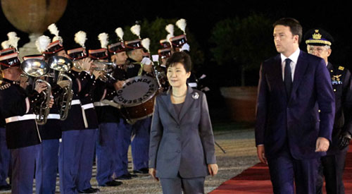 President Park holds summits wit...