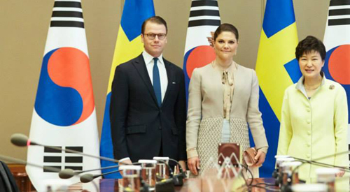 President meets Swedish Crown Pr...