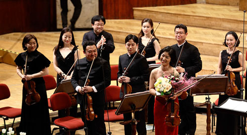 Korean classical musicians wow W...