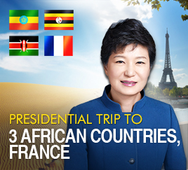 Presidential trip to 3 African countries, France